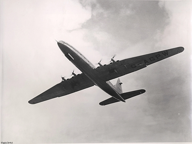 First flight of the Bristol Brabazon