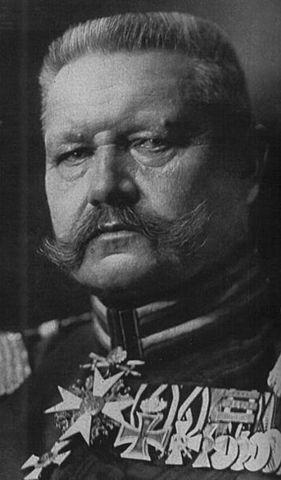 Mort Paul von Hindenburg