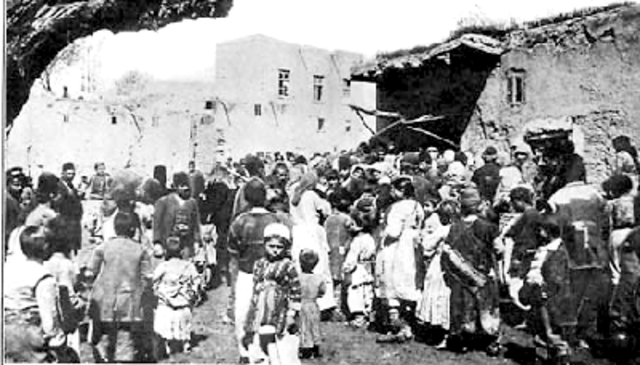 Armenians Seeking Refuge To The Red Army