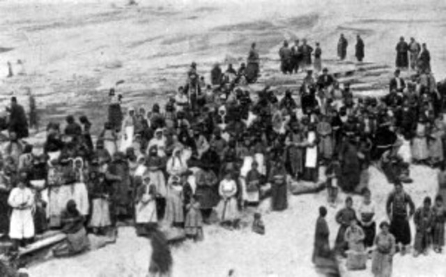 The start of the deportation