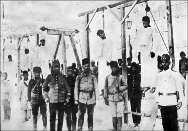 Armenians celebrating