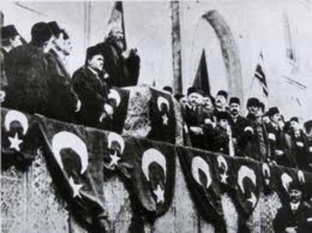 Ottoman Empire enters World War I