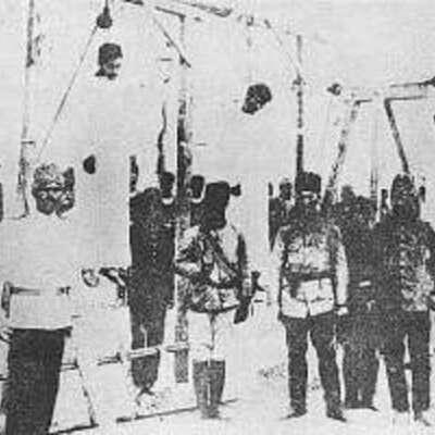 Armenian Sufferings timeline