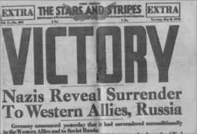 WW2 Ends in Europe
