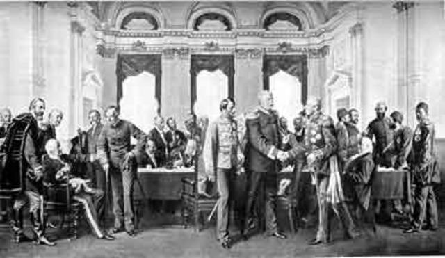 The Treaty of Berlin.