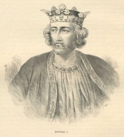 The reign of King Edward I (son of Henry III)