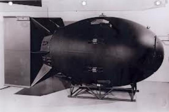 fat man second atomic bomb