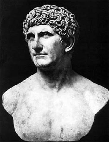 30 BC Antony Commits Suicide