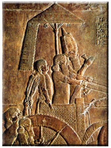 Ashur-uballit II ( 612 a. C. y 609 a. C.)