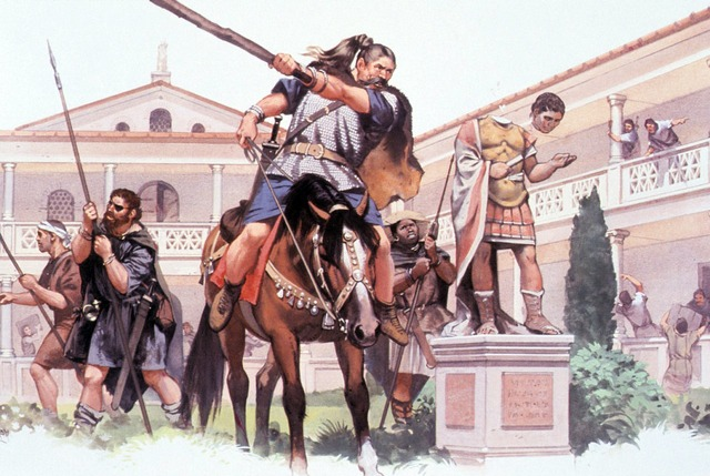 455 AD The Vandals Sack Rome