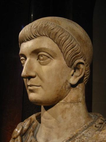 324 AD Constantine is Emperor