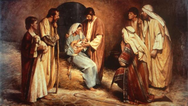 4 BC Jesus is born