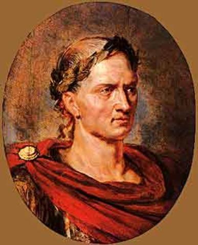 44 BC Julius Caesar Becomes Dictator