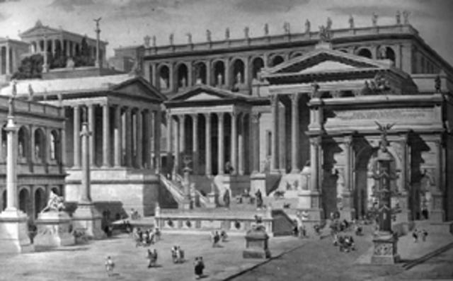 179 BC The Roman Forum