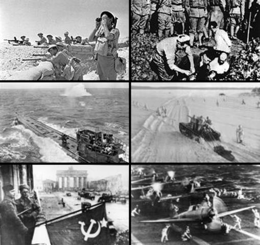 De allierte vant 2 verdenskrig