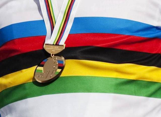 Champion du monde sur route