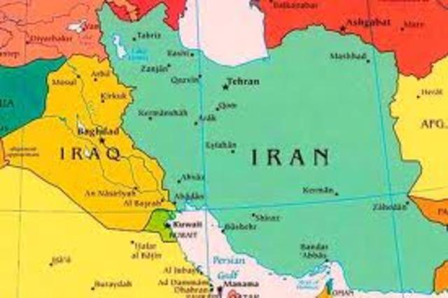 Guerra Irán-Irak. Sadam Hussein
