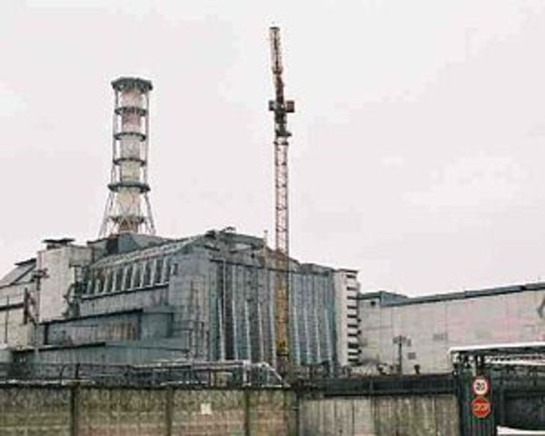 Desastre nuclear de Chernóbil (Ucrania)