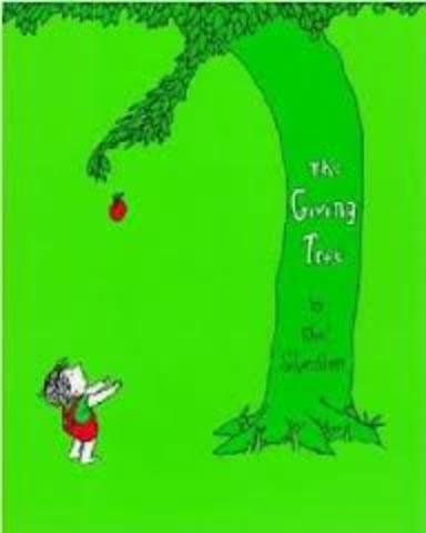 Mom Starts reading The Giving Tree to me