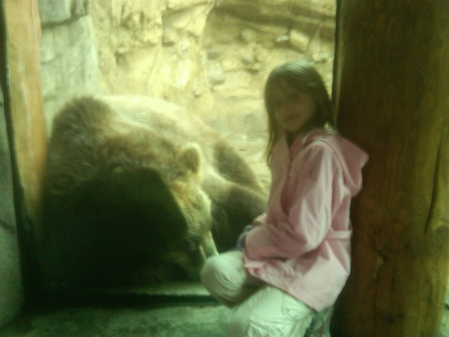 The first day I went to the zoo