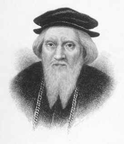 John Cabot landed in Canada's east coast.