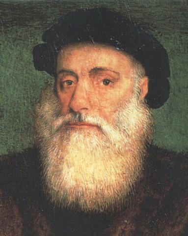 Vasco de Gama sails to India.