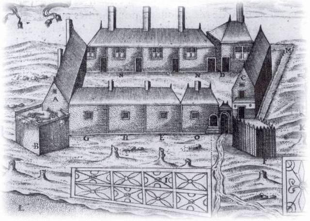 Samuel de Champlain founds Port-Royal