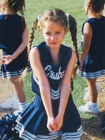 Was a cheerleader at his school