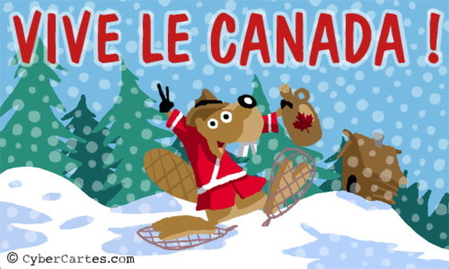 People in New France are known as Canadians.