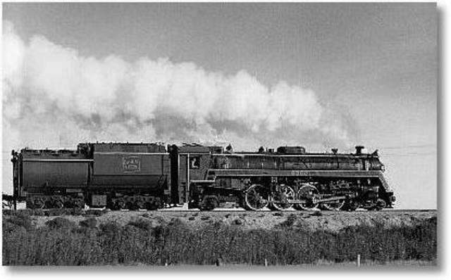 Steam power trains are built by Britain.