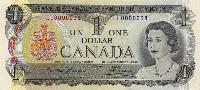 Canada creates its own currency,