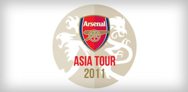 Met the Arsenal team!