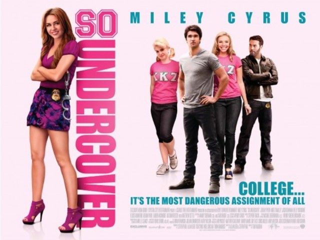 Launched a major movie called So Undercover