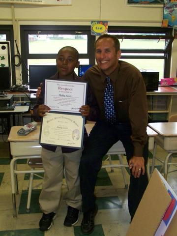 I Graduated fourth grade!