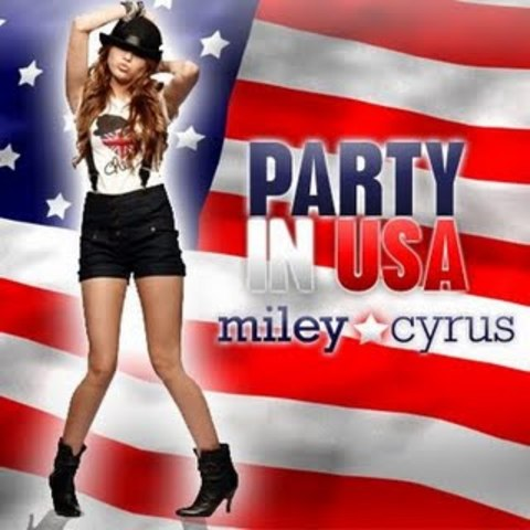 Launches more contagious song called Party in the usa
