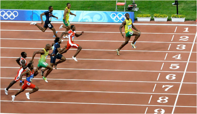 Usain Bolt Breaks 3 World Records at Olympics