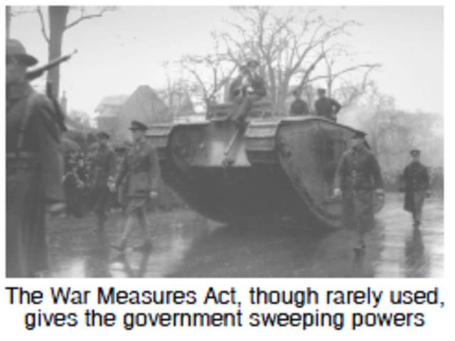 War Measures Act