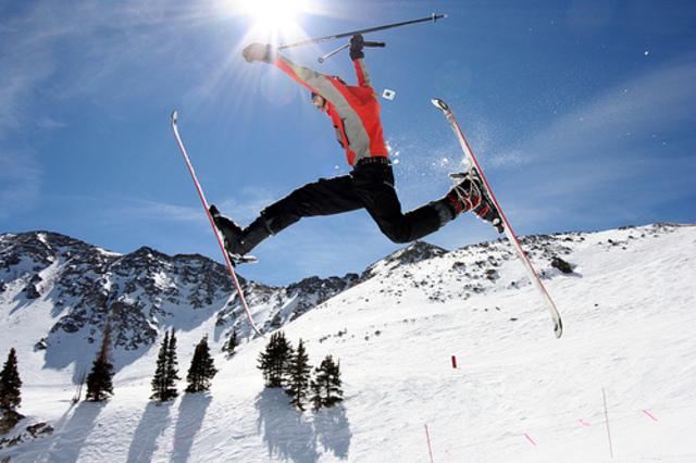 esquí tiempo