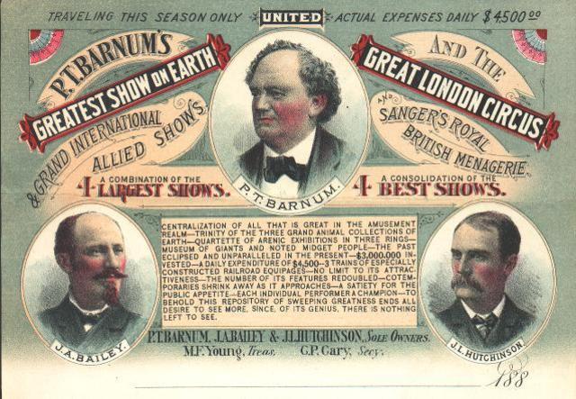 Debuut Circus Barnum
