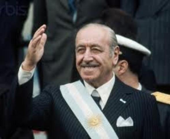 Presidencia de Campora Hector Jose (1973)