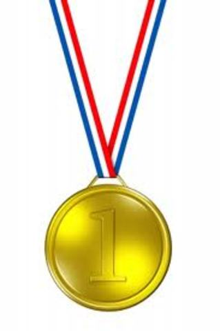 First Gold Medal!