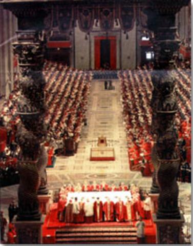 Cinquant'anni fa: il Papa del Concilio