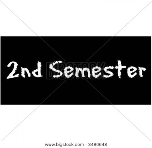 First Day of Semester 2