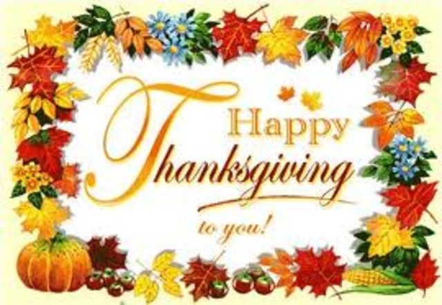 Thankgiving Break