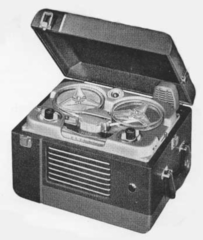 First Video Tape Recorder