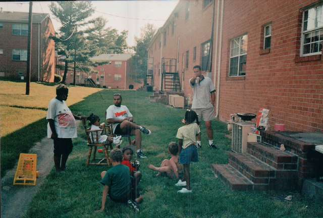Some fam at the Cookout