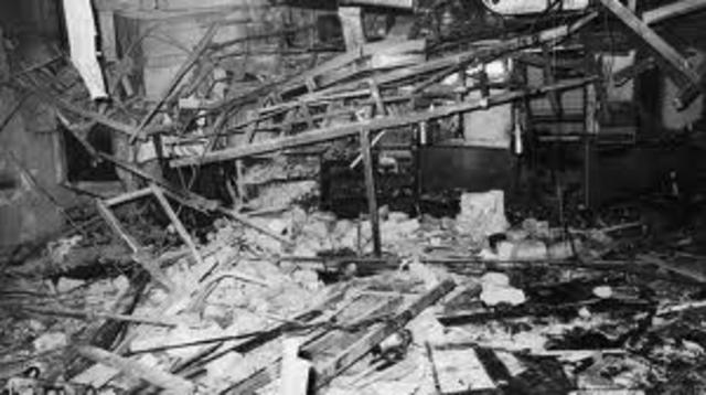 More Bombings