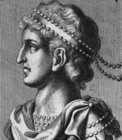527 AD Justinian is Emperor