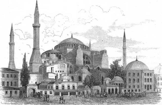 537 AD the Hagia Sophia