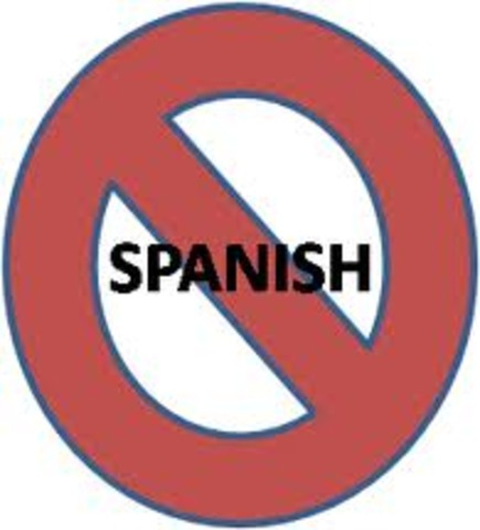 The Spanish shall be deleted
